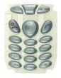 Klávesnice Motorola T191 stříbrná