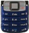 Klávesnice Nokia 3110classic modrá originál