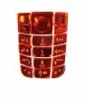 Klávesnice Nokia 3120 krystal červená