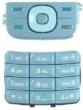 Klávesnice Nokia 5200 / 5300 stříbrná