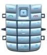 Klávesnice Nokia 6020 / 6021 stříbrná
