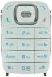 Klávesnice Nokia 6131 bílá originál