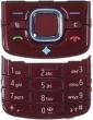 Klávesnice Nokia 6210navigátor červená originál