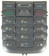 Klávesnice Nokia 6233 stříbrná originál