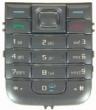 Klávesnice Nokia 6233 stříbrná
