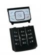 Klávesnice Nokia 6288 černo bílá originál