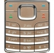 Klávesnice Nokia 6500classic bronz