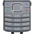 Klávesnice Nokia 6500classic stříbrná - originál