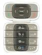 Klávesnice Nokia 7200 stříbrno černá