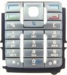 Klávesnice Nokia E60 stříbrná originální