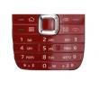 Klávesnice Nokia E75 červená originál