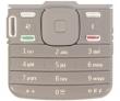 Klávesnice Nokia N79 šedá originální