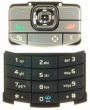 Klávesnice Nokia N80 mat black originální