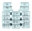 Klávesnice Sony-Ericsson K700 stříbrná