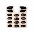 Klávesnice Sony-Ericsson T610 krystal černá