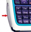Kryt Nokia 3220 - krytka diod černá