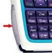 Kryt Nokia 3220 - krytka diod modrá