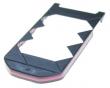 Kryt Nokia 7070 černý/růžový kryt spodní