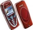 Kryt Nokia 7210 červený originál