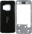 Kryt Nokia N81 stříbrný originál