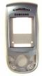 Kryt Samsung E800 kryt stříbrný OEM