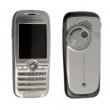 Kryt Sony-Ericsson K500 stříbrno-šedý
