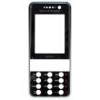 Kryt Sony-Ericsson K660i černý/vínový originál