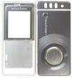 Kryt Sony-Ericsson R300 stříbrný/černý originál
