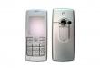Kryt Sony-Ericsson T630 stříbrný