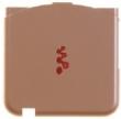 Kryt Sony-Ericsson W580i kryt antény růžový