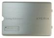 Kryt Sony-Ericsson Xperia X1 kryt baterie stříbrný