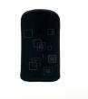 Pouzdro Quatro Iphone / P1i / MDA - černé čtverečky