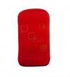 Pouzdro Quatro Nokia E52 červené