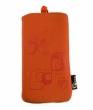 Pouzdro VAMP Nokia 6303classic - oranžové