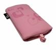 Pouzdro VAMP Sony-Ericsson C902 - růžové