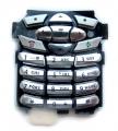 Klávesnice Motorola C350 / C450  stříbrná