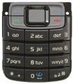 Klávesnice Nokia 3110classic šedá originál