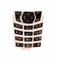 Klávesnice Nokia 6610 krystal stříbrná