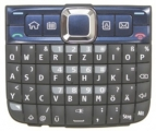 Klávesnice Nokia E63 modrá originální
