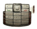 Klávesnice Nokia N72 stříbrná