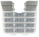 Klávesnice Sony-Ericsson K500 stříbrná