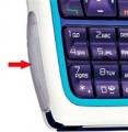 Kryt Nokia 3220 - krytka diod červená