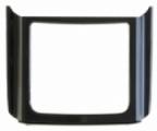 Kryt Nokia E65 krytka klávesnice černá