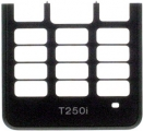 Kryt Sony-Ericsson T250i kryt klávesnice černý