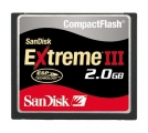 Paměťová karta CF Extreme III 2GB