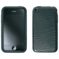 Pouzdro Iphone silikon - černé