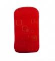 Pouzdro Quatro Nokia E52 - červené
