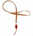 Šňůrka na krk na mobil -  7 mm - INDIÁNSKÁ červená