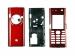 Kryt Sony-Ericsson K600i - červený -Kryt vhodný pro mobilní telefony Sony-Ericsson: Sony-Ericsson K600ičervený