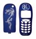 Kryt Siemens C45 - modrý drak -Kryt vhodný pro mobilní telefony Siemens:Siemens C45- Barva krytu čínský drak - Výměnný kryt pro Siemens C45- Sada obsahuje pření a zadní díl krytu- Ekonomické balení v sáčku